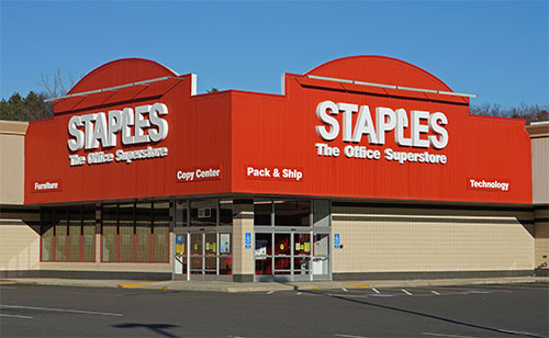 A Staples Store