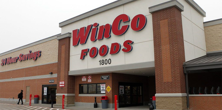 A WinCo Grocery Store